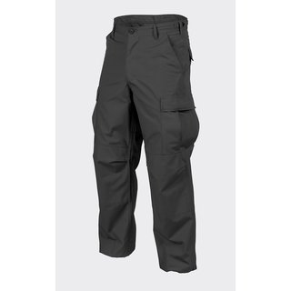 Helikon Tex BDU Hose Pants Ripstop Security Uniform Schwarz / Black SP-BDU-PR-01