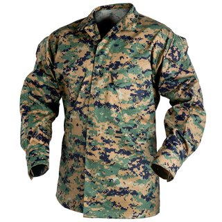 Helikon USMC Marpat Hemd Digital Woodland Blouse US Marines MCCUU Feldhemd Uniform