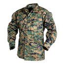 Helikon USMC Marpat Hemd Digital Woodland Blouse US...