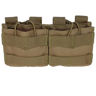 Condor Outdoor Double Open-Top M14 Mag Pouch Molle Magazintasche Tan Coyote Braun