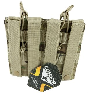 Condor Outdoor Open Top Double M4 Mag Pouch Molle Magazintasche Multicam - AR15 M16