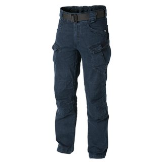 Helikon Tex Urban Tactical Pants Denim Jeans Hose UTP UTL Blau Blue