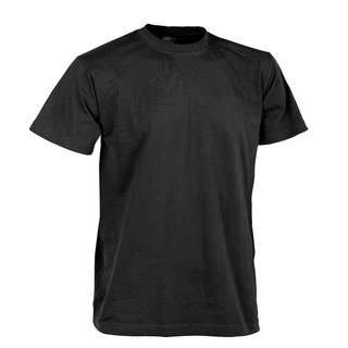 Helikon Tex US T-Shirt Army - Military Style 100% Baumwolle - Schwarz / Black