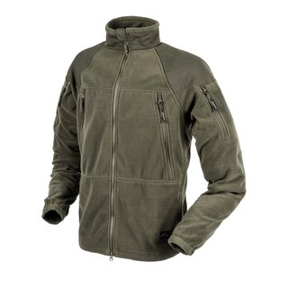 Helikon Tex Stratus Heavy Fleece Jacke Taiga Green Outdoor - 320g/m2 Medium