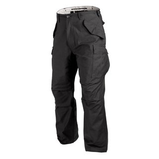 Helikon-Tex M65 Hose NYCO Sateen US Army Uniform Trouser Pants - Schwarz M Long