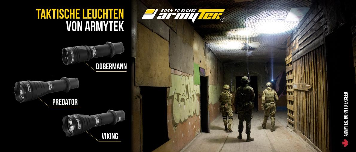 Armytek Designed for your Life