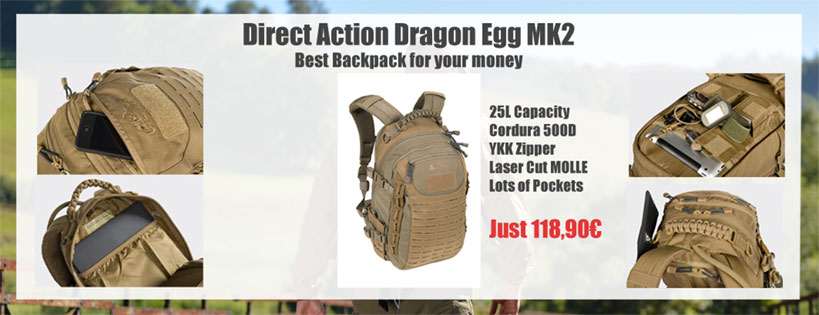 Direct Action Dragon EGG MK2